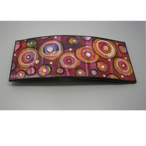 Barrette hand painted