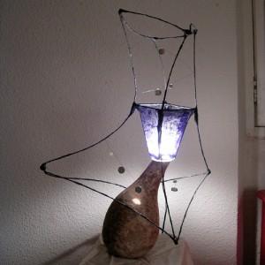 Lampe-chardon